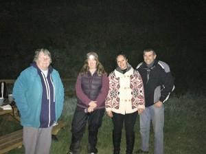 Pam, Amy, Heidi & Steve at Val de la Mare